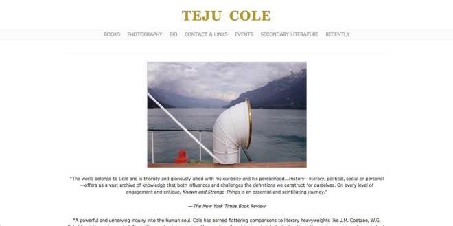 Teju Cole Personal Website