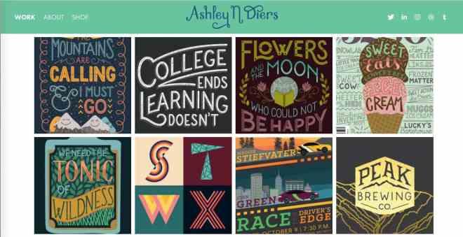 Ashley Diers Website