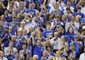 avid college basketball fans