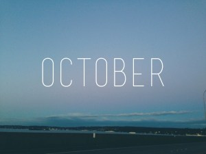 October to dos for college