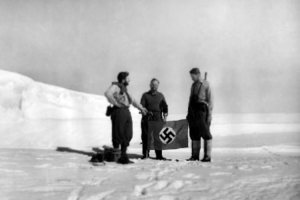 Nazi soldiers in Antarctica.