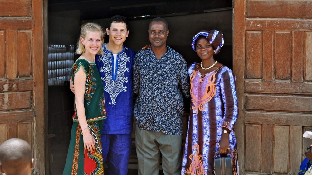 Luke & Charlotte Crockett Missionaries to Ivory Coast West Africa