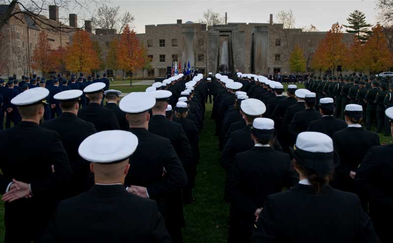notre dame military students