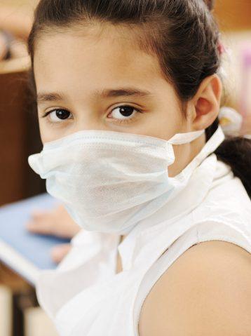 masked schoolgirl