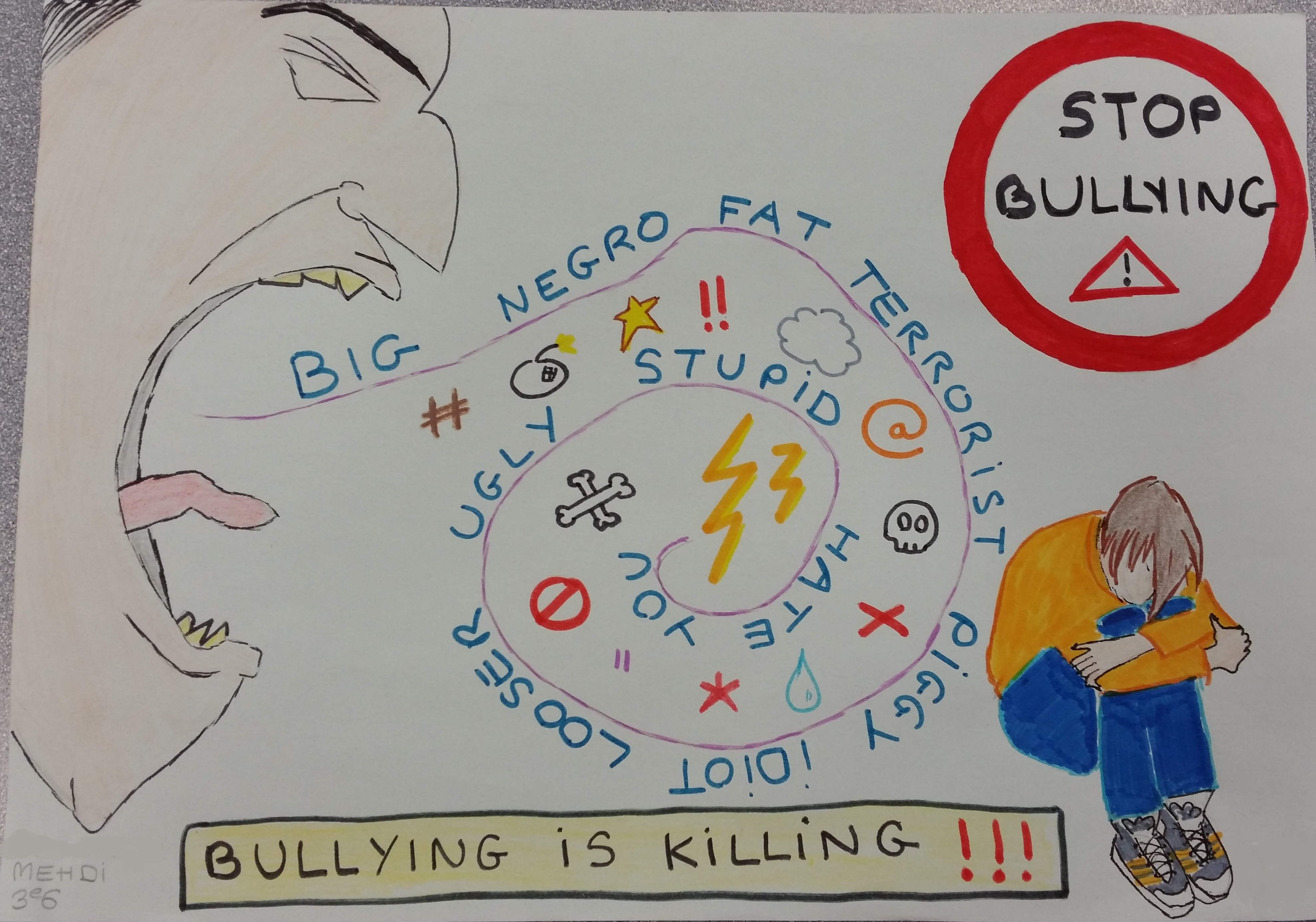 affiche bullying