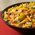 Healthy Lunch Box: Pizza Pasta Salad