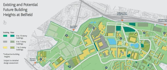 Campus Development Report 2016-26