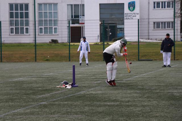 UCD Cricket Batting