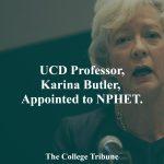 UCD Professor, Karina Butler, Appointed to NPHET