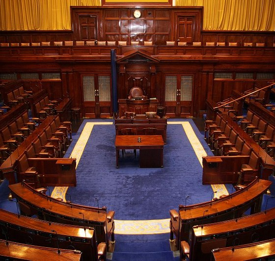 Dáil Chambers Irish Politics