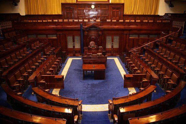 Dáil Chambers Irish Politics