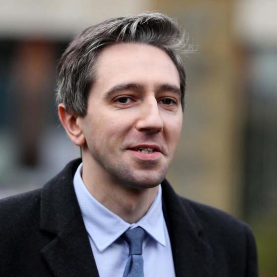 Simon Harris in UCD