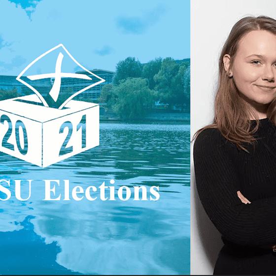 Sarah Michalek UCDSU Election