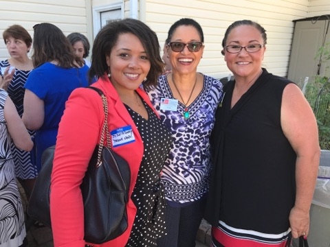 WLI 2017 Endorsement Brunch Marion McKinney and Judicial Candidate Carolyn Nichols Superior Court