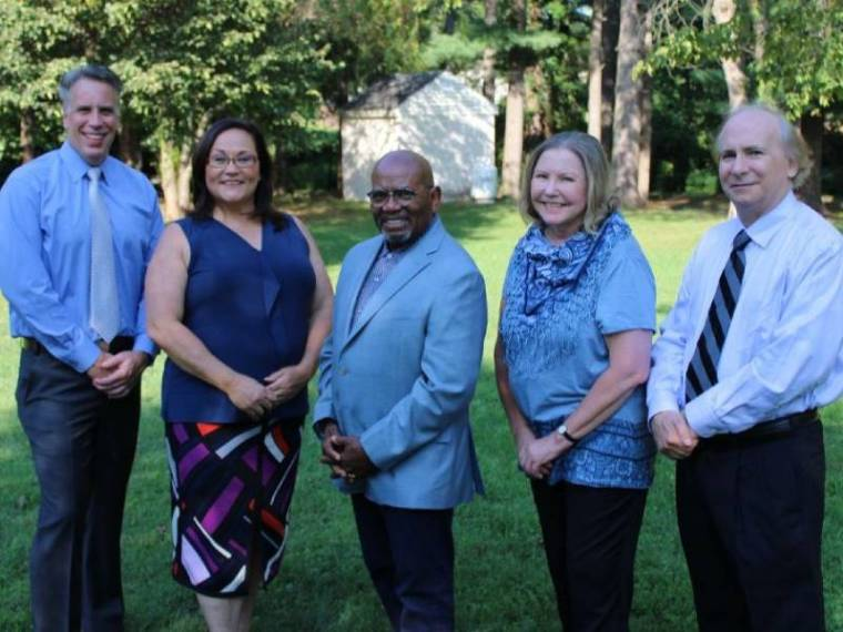 Collegeville Borough's five candidates for the November 2021 election.