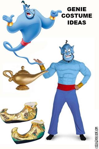 "Aladdin ""Genie"" costume ideas"