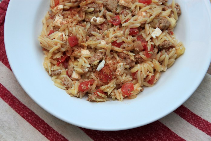Greek Feta Orzo Recipe, CollegiateCook.com