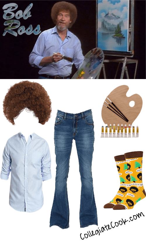 Bob Ross Costume - Collegiate Cook