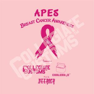 APES Pink Ribbon Design