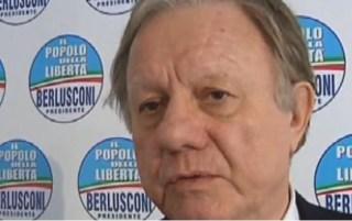 Altero Matteoli, senatore del Pdl e presidente della Commissione Lavori Pubblici