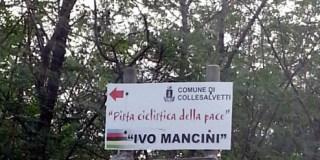 """L'ingresso della Pista """"Ivo Mancini"""" a Stagno"""
