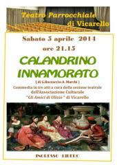 Manifesto Calandrino Innamorato