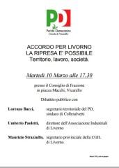 Manifesto Accordo per Livorno