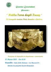 Manifesto Proiezione Giustino Crescimbeni Gruppo Fotografico Vicarello