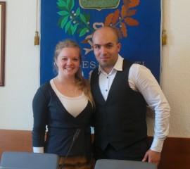 Rebecca Consoli e Paolo Cardile