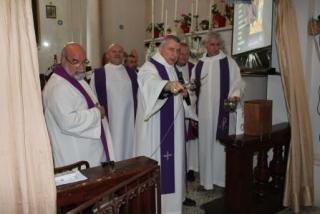Benedizione presepe a Castell'Anselmo