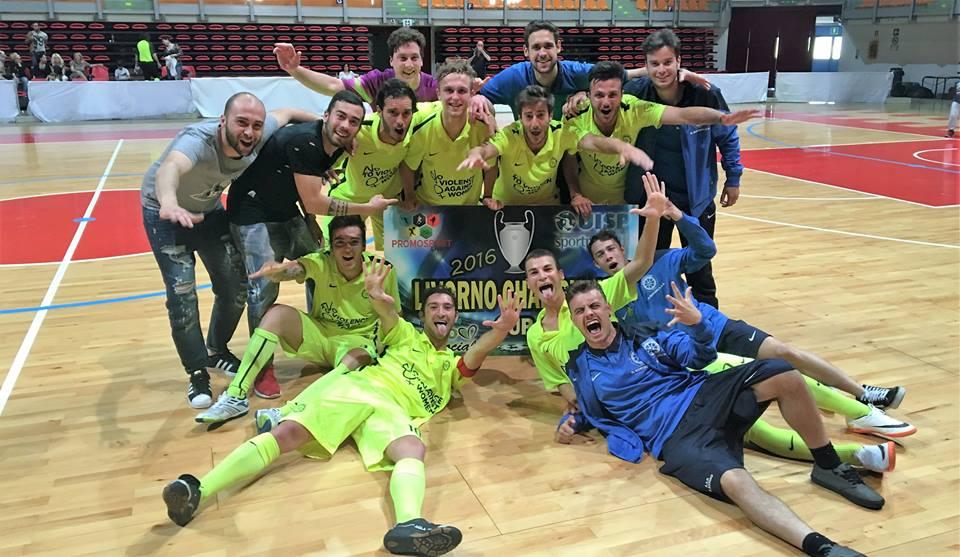 IL ROTINO J VINCE LA CHAMPIONS FUTSAL CUP 2016 DI CALCIO A 5