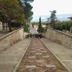 Scalinata del Monumento ai Caduti di Collesalvetti