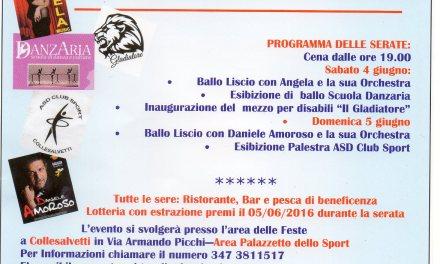 A COLLESALVETTI LA FESTA DI BENEFICENZA IN MEMORIA DI MASSIMO CECCONI PER RACCOGLIERE FONDI PER LA RICERCA SULLA SLA