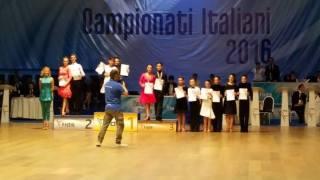 Campionati Giulia Nardi e Nicolas Piccirilli