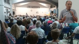 COLLESALVETTI RICORDA BENEDETTO MONDINI ALLA PRESENZA DI ENRICO LETTA E ALL'INSEGNA DELL'EUROPEISMO. È PIENONE