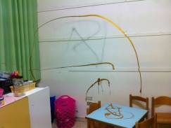Vandalismo alla scuola di Stagno 5