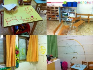 Vandalismo alla scuola di Stagno