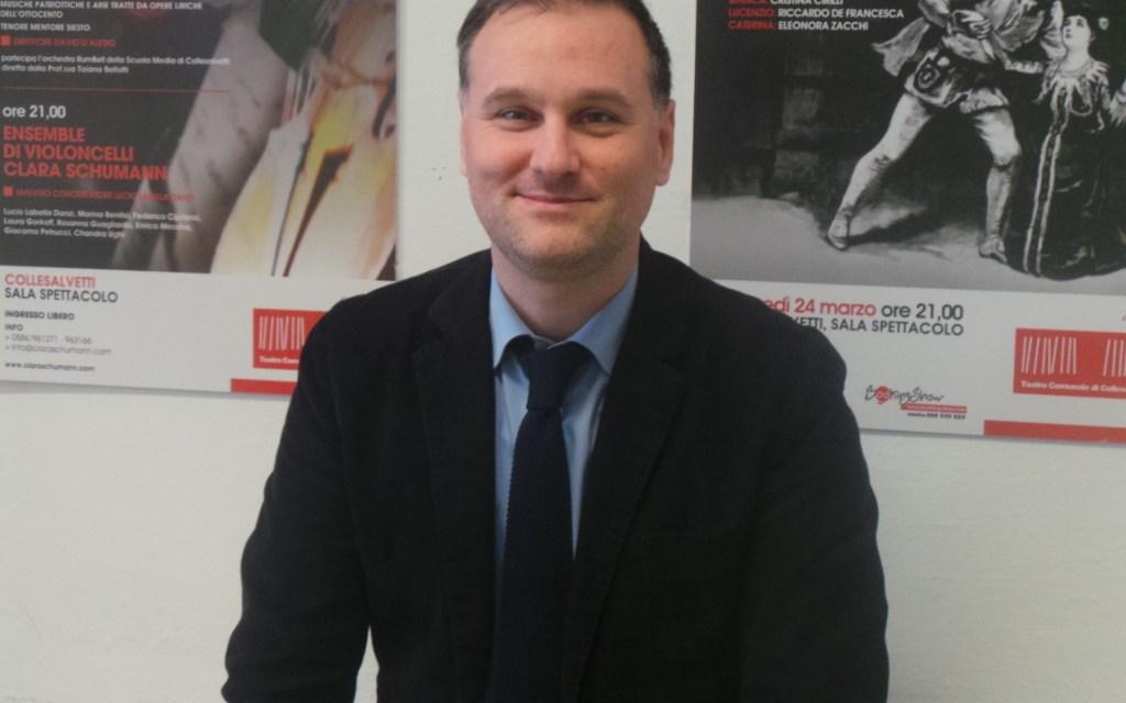 L'intervista – L'ASSESSORE CRESPOLINI A TUTTO CAMPO: DALLA POLITICA FISCALE A COLLESALVETTI AL PD NAZIONALE E OLTRE