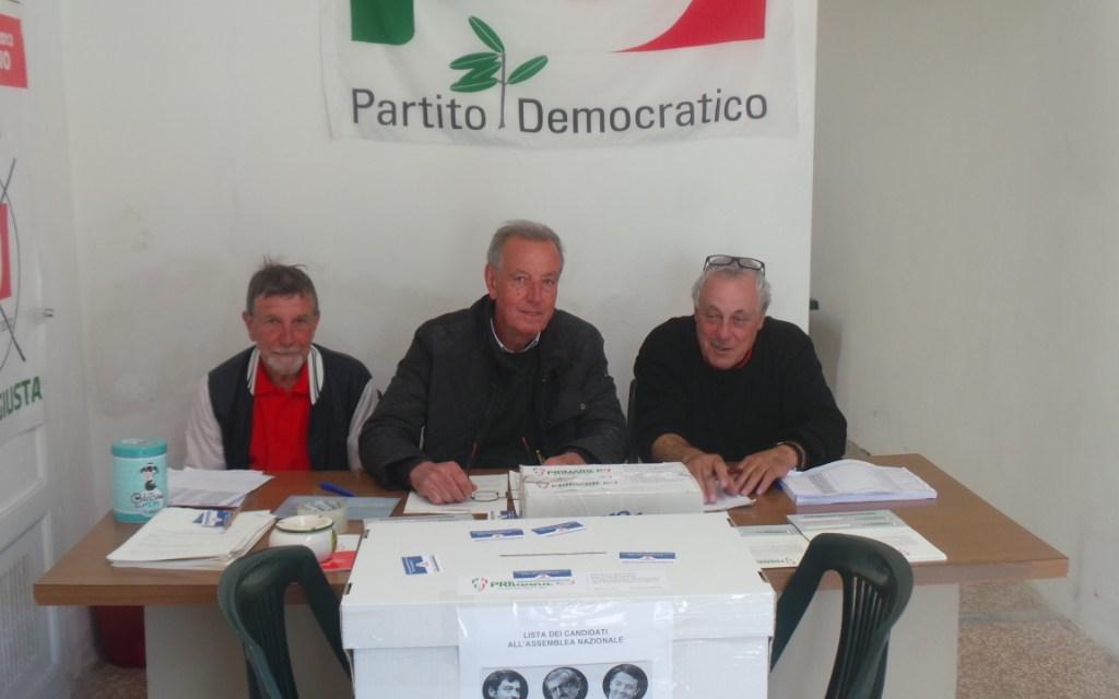 PRIMARIE PD: NEL COMUNE DI COLLESALVETTI MATTEO RENZI VINCE COL 65,77%. I DATI FRAZIONE PER FRAZIONE