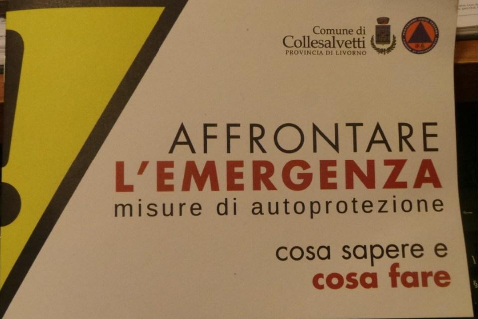 AFFRONTARE L'EMERGENZA: ECCO LE MISURE DI AUTOPROTEZIONE RACCOLTE IN UN OPUSCOLO
