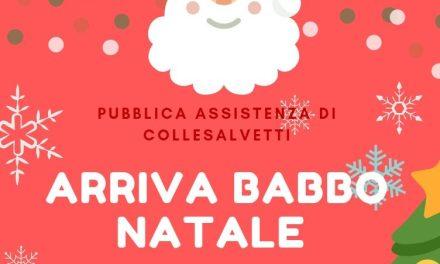 """""""A COLLESALVETTI ARRIVA BABBO NATALE"""""""