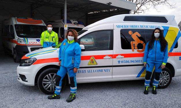 """LA MISERICORDIA DI VICARELLO: """"CONSEGNA A DOMICILIO DI MEDICINALI, ALIMENTARI E BENI DI PRIMA NECESSITÀ"""""""
