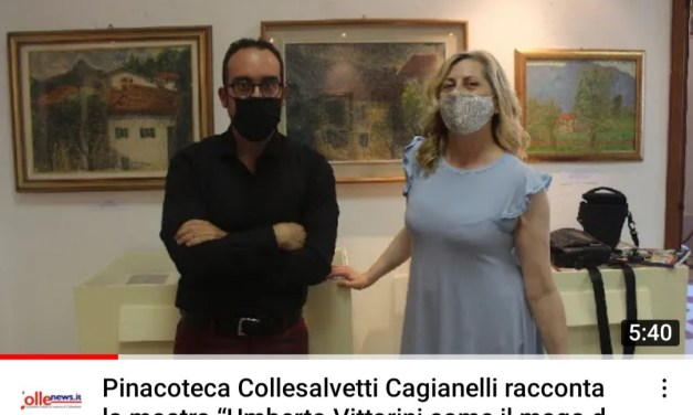 La video-intervista, CAGIANELLI: «VI RACCONTO LA MOSTRA SU VITTORINI IN CORSO ALLA PINACOTECA DI COLLESALVETTI»
