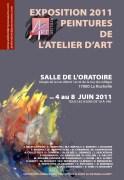 affiche 3 Atelier d'Art 2011