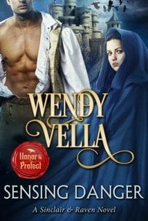 Bluestockings Book Shoppe Featuring Wendy Vella, Sensing Danger, Historical romance books