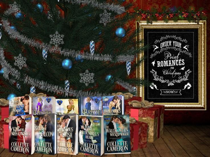 Contests and Giveaways, Collette Cameron Historical Romances, Twelve Days of Chrismtas. FREE historical ebooks, Regency romance novels, Highlander Romance Novels.