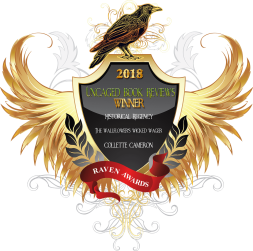 The Wallflower's Wicked Wager, A Waltz with a Rogue, Collette Cameron, Regency romance Raven Award Winner