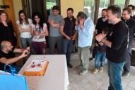 Piccola festa a sorpresa per Fausto - foto © Massimo Di Tosto