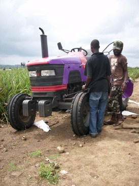 """painting2 the tractor"