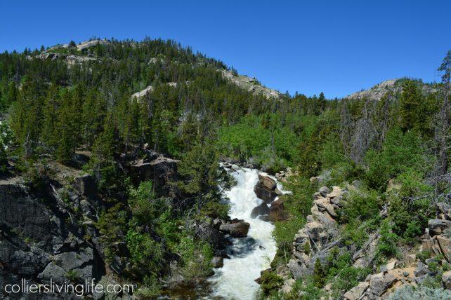 Popo Agie Falls Trail, Shoshone National Forest, Sinks Canyon